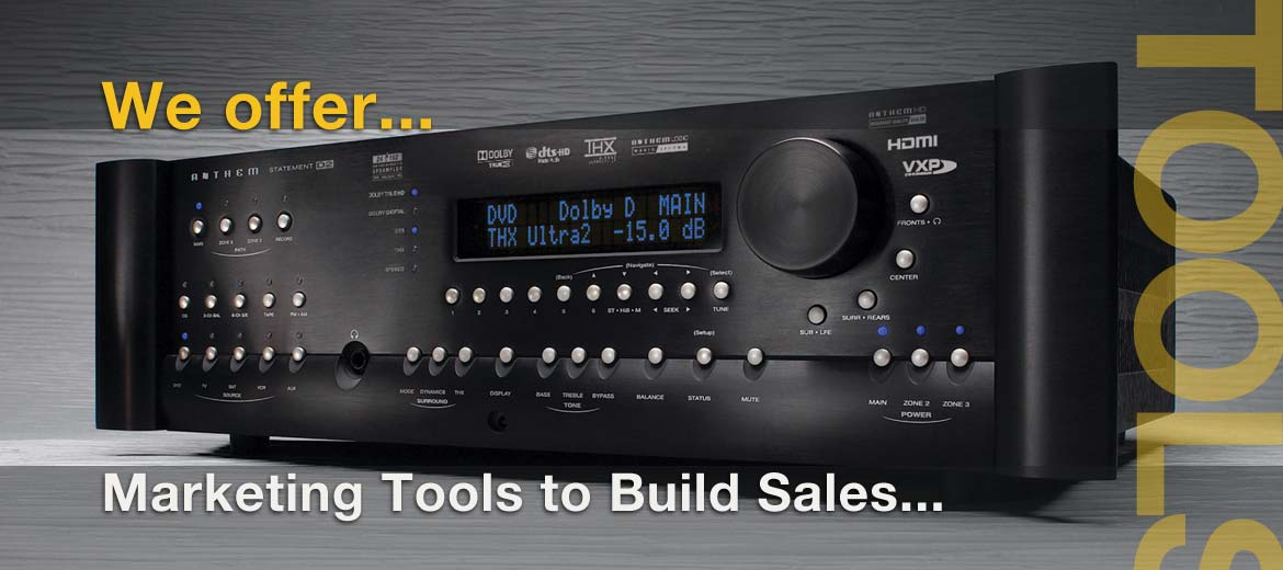 Audio Video Dealer Websites that increase sales