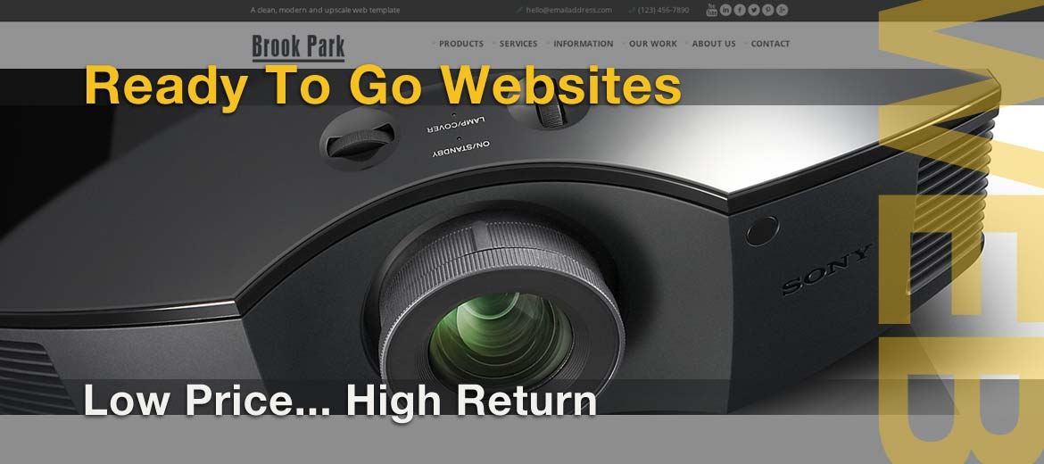 Audio Video Installation Company Websites that show your capabilities